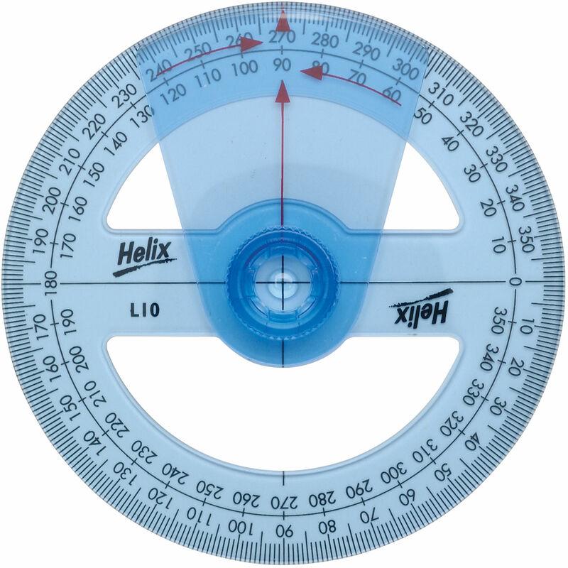 Image of Helix L10010 10cm Angle Measure