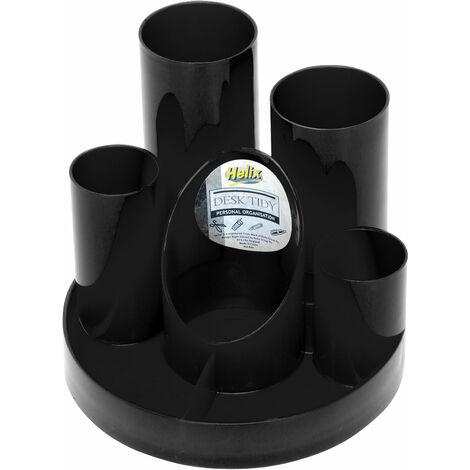 Helix R40077 Desk Tidies Black