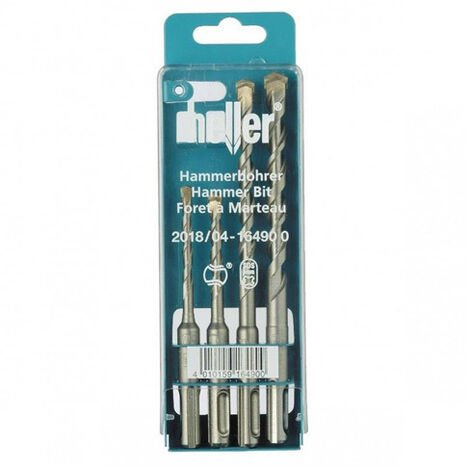 Heller 164900 Bionic Pro SDS+ Drill Bit Set 4pc 5 6 8 10mm