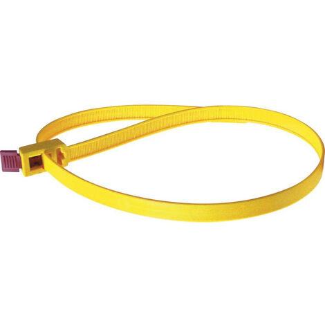 Kabelbinder UV Nylon Polyamid 6.6 Industriequalität schwarz 300 mm x 7,6 mm