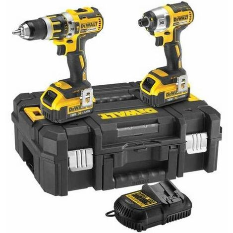 DeWalt DCK259M2T 18v Brushless Twin Pack 2x4.0Ah Li-Ion Batteries