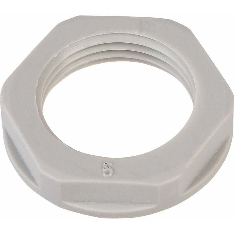 Image of 10094263 M25 Lock Nut For Grey Dome Cable Gland - Helukabel