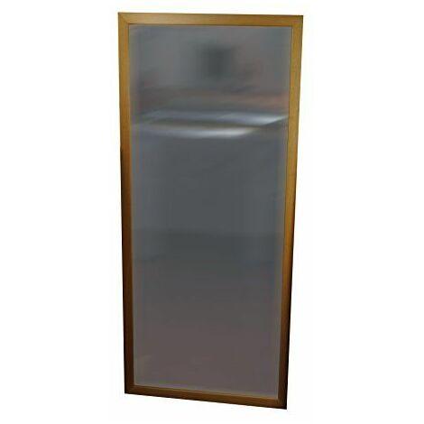 henbea enfants de miroir avec cadre en bois, en plastique, beige, 120x 50cm