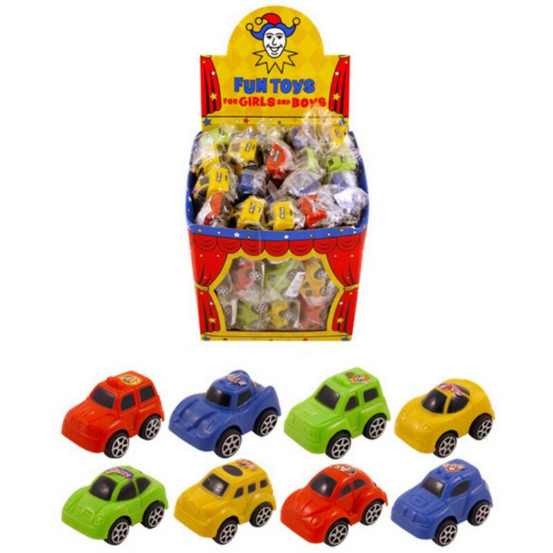 Image of Cars - Assorted Colours (One Size) (Red/Blue/Green/Yellow) - Henbrandt