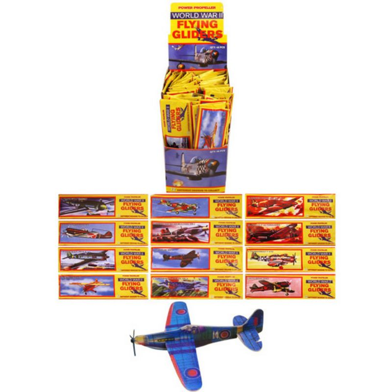Image of Gliders - Assorted Flying (One Size) (Multicoloured) - Henbrandt