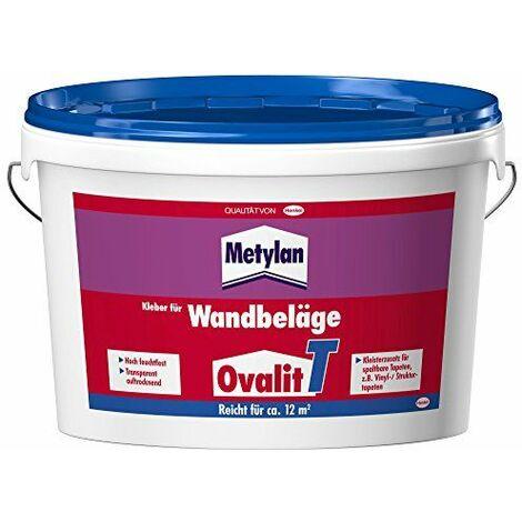 Henkel Ovalit T Colle pour revêtement muraux 3kg
