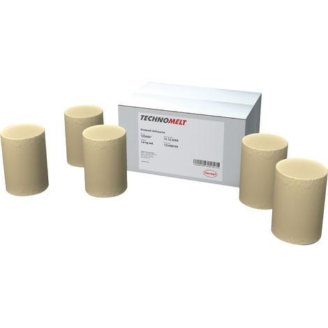 HENKEL Schmelzkleber TECHNOMELT DORUS HKP 27 PUR natur, Patronen passend zu HolzHer Kantenanleimmaschine Inhalt: 6 Stück a 0,3 kg