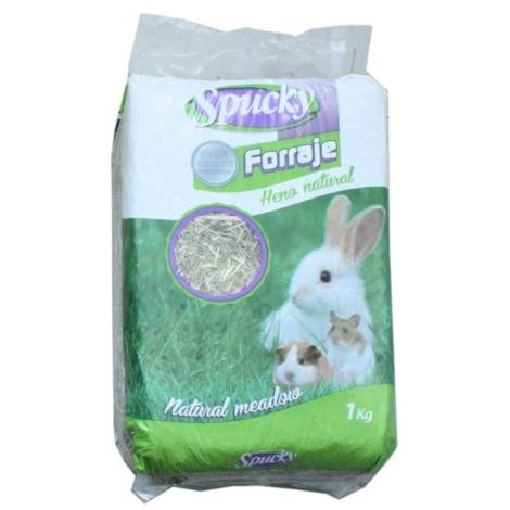 Heno natural SPUCKY para roedores y conejos