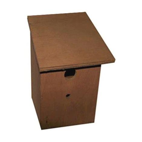 Henry Bell Bird Nest Box (One Size) (Brown)