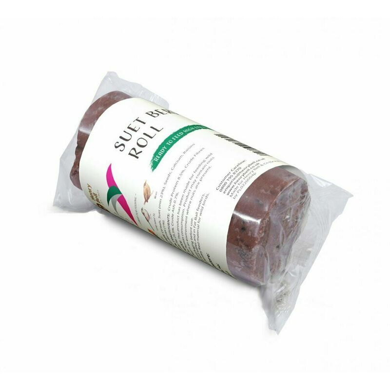 Image of Berry Wild Bird Suet Roll (One Size) (Mulberry Red) - Henry Bell&co - HENRY BELL & CO