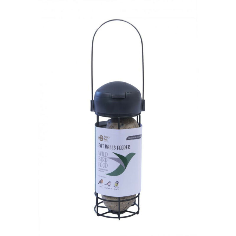 Image of Ready To Use Wild Bird Feeder (One Size) (Cool Grey) - Henry Bell&co - HENRY BELL & CO