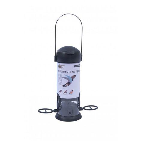 Henry Bell Essentials Range Wild Bird Feeder (One Size) (Grey)