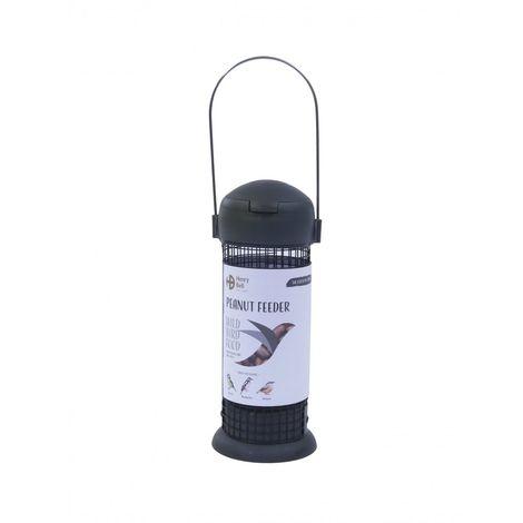 Henry Bell Essentials Range Wild Bird Peanut Feeder (One Size) (Grey)