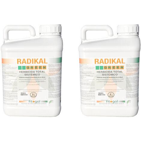 Herbicida 2 x 5L Todos los jardines concentrados