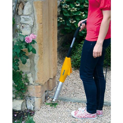 Herbicida eléctrico manual con cepillo
