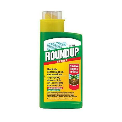Herbicida Roundup Herba Glifosato 45% Masso 500 Ml
