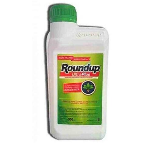 "main image of ""Herbicida Roundup UltraPlus 500ml para jardineria exterior doméstica"""