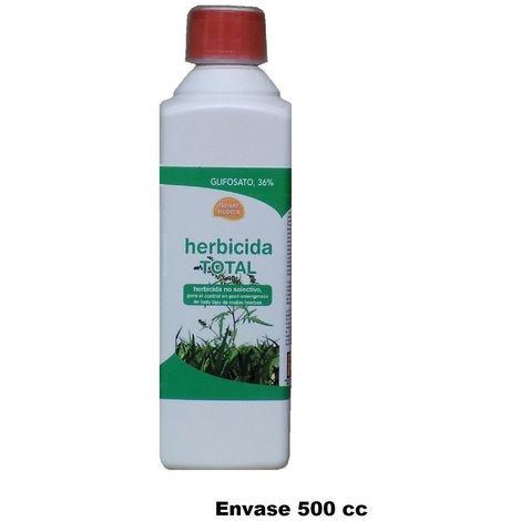 Herbicida total FLOWER HUERTA 500cc contra malas hierbas