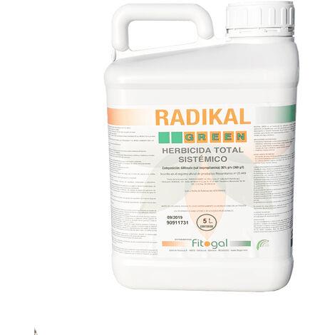 Herbicida Total Glifosato 5L Todos los jardines concentrados