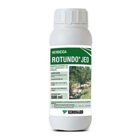 Herbicida total ROTUNDO TOP JED 500ml contra malas hierbas