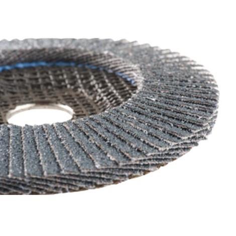 HERMES ABRASIFS - Disque à lamelles pour métaux - Diamètre 125 mm