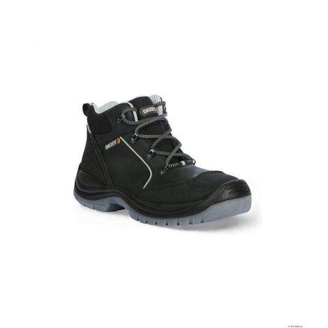 9ef8c9cc69 HERMES Chaussures de sécurité hautes en cuir noir Noir - T. 38 ...