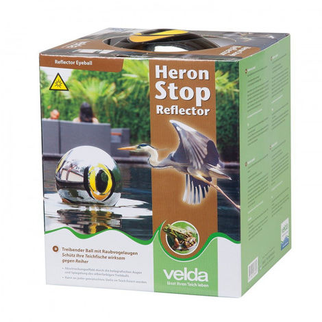 "main image of ""Héron stop reflector Velda diamètre 15 cm"""