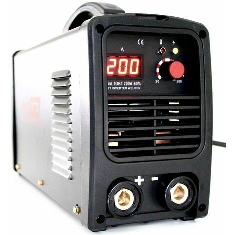 HERPRO IGBT 200 - Soldador Inverter Profesional