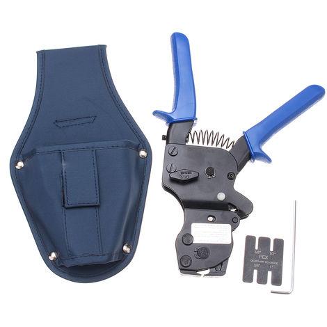 Herramienta de abrazadera de pinza de alicate de tubo PEX de trinquete para de 3/8 de pulgada-1 pulgada LAVENTE