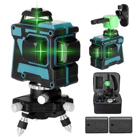 Herramienta de nivel laser multifuncional 3D de 12 lineas KKmoon