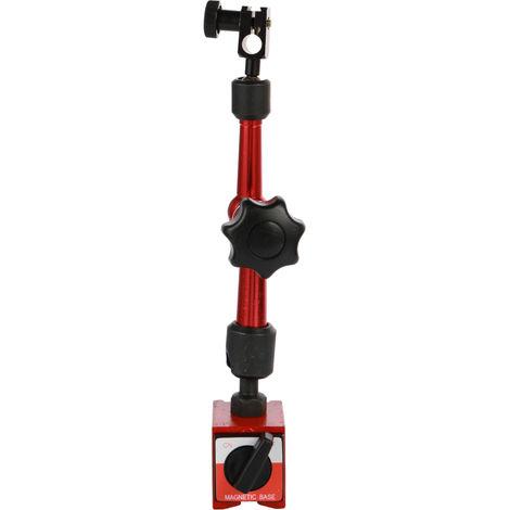 Herramienta de soporte de soporte de base magnetica, para indicador de dial de apalancamiento