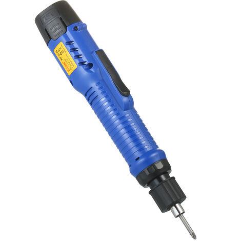 Herramienta destornillador electrico recargable de 1500mAh 12V sin cable de alimentacion Mini 6 modos ajustable Torques inalambrico de herramienta del destornillador recargable con trozos de 5 mm para la pequena Electrodomesticos portatil, 1 BATERiA UE