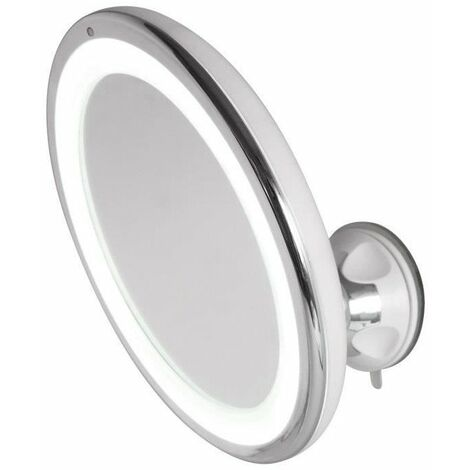 HESTEC Miroir grossissant LED tactile