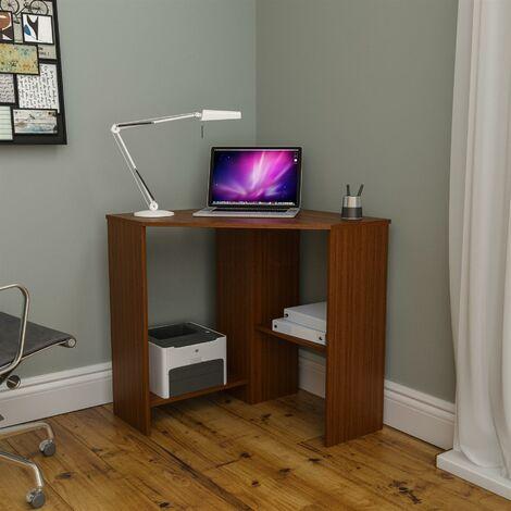 Hetton Corner Computer Desk, Walnut