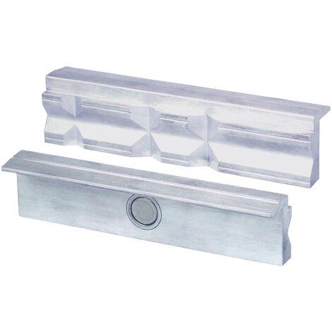 Heuer Mors de protection pour étau pour largeur de 100mm avec prismes et fixation magnétique, 109100