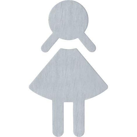 HEWI Symbol Damen Edelstahl matt-geschliffen