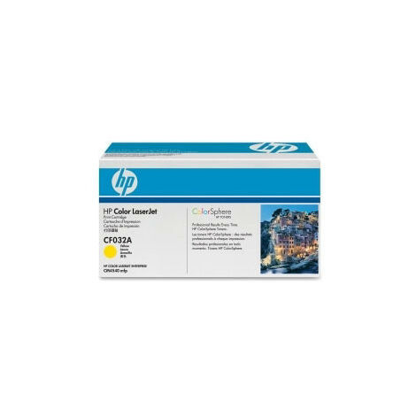 Hewlett Packard Accessoire Imprimante Laser LJ CM4540 MFP Toner Cartridge Yellow (CF032A)