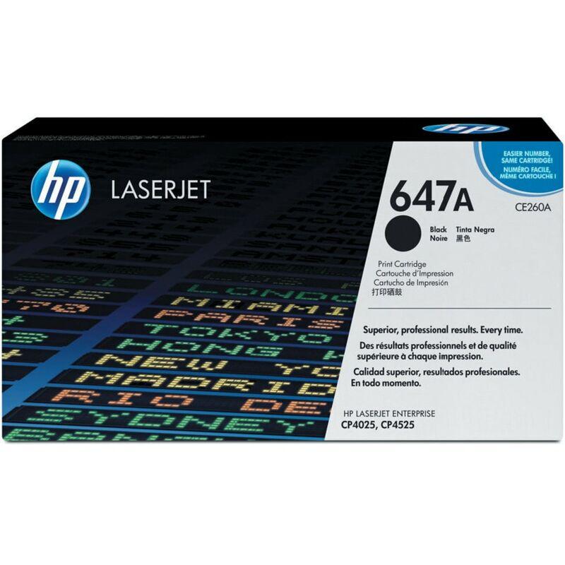 Image of Hewlett Packard CP4025 HP LaserJet Toner Cartridge Black CE260A