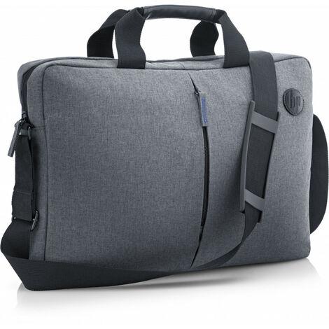 Hewlett Packard HP Etui 15,6 pouces résistant - Malette - 39,6 cm (15.6) - Sangle épaule - 425 g - Noir - Gris (K0B38AA)