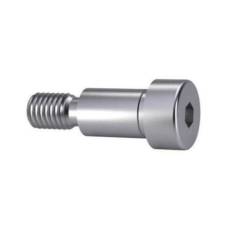 Hexagon socket head shoulder screw tolerance h8 ISO ≈7379 Steel Plain 012.9