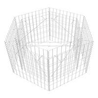 Hexagonal Gabion Planter 100x90x50 cm