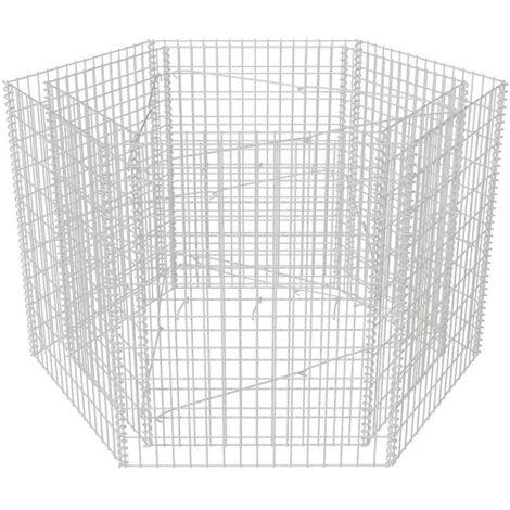Hexagonal Gabion Planter 160x140x100 cm