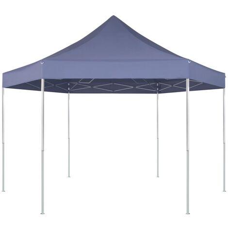 "main image of ""Hexagonal Pop-Up Foldable Marquee Dark Blue 3.6x3.1 m - Blue"""