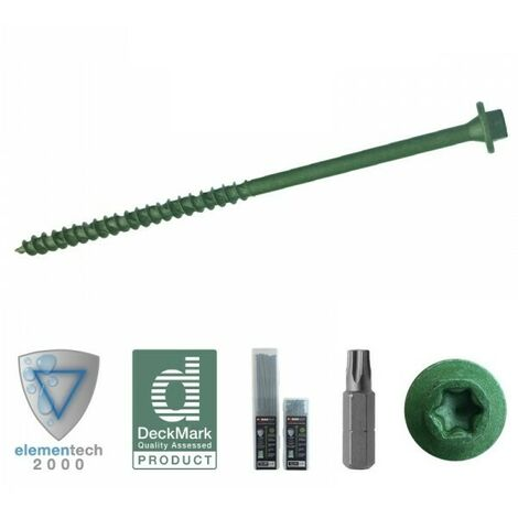 Hexagonal/TORX® T30 Timber Screws