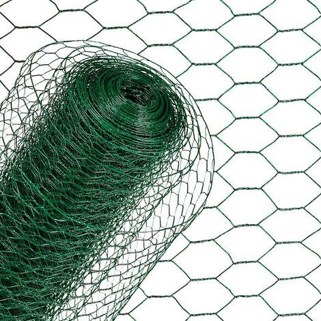 Hexagonale de fil de maille a le grillage de grillage de fil 1.50 x 10m vert