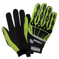 HexArmor Chrome Series 4026 Cut Impact Hi-Vis Gloves (select size)