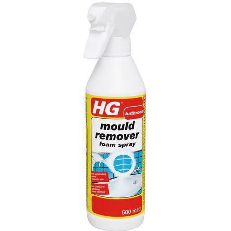 HG Bathroom Tile Mould Remover Foam Spray - 500ml