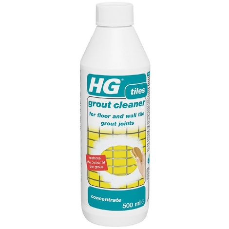 HG Floor and Wall Tile Grout Cleaner Concentrate - 500ml