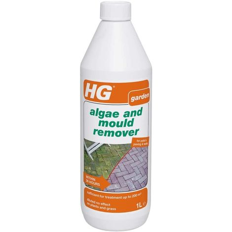 HG Green Moss Algae Mould and Slime Remover - Concentrate 1 Litre