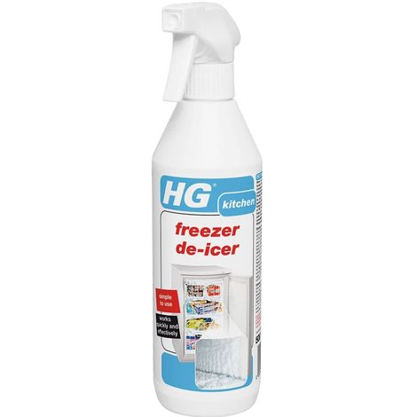 HG Hagesan Freezer De-icer 500ml Works Quickly And Effectively